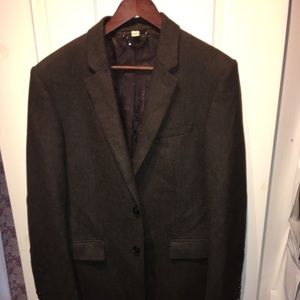 Burberry sport coat blazer wool and cashmere 40